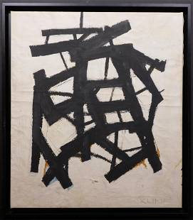 Manner of Franz Kline Abstract Composition