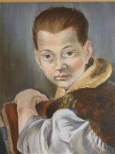 Howard Besnia Portrait of a Boy After Tiepolo