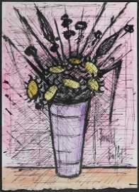 Bernard Buffet: Floral Still Life