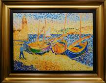 Andre Derain:  Boats at Collieure