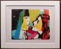 Andy Warhol: Mick & Jade Jagger