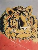 Andy Warhol: Siberian Tiger (1983)