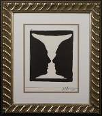 Jasper Johns: Cup 2 Picasso