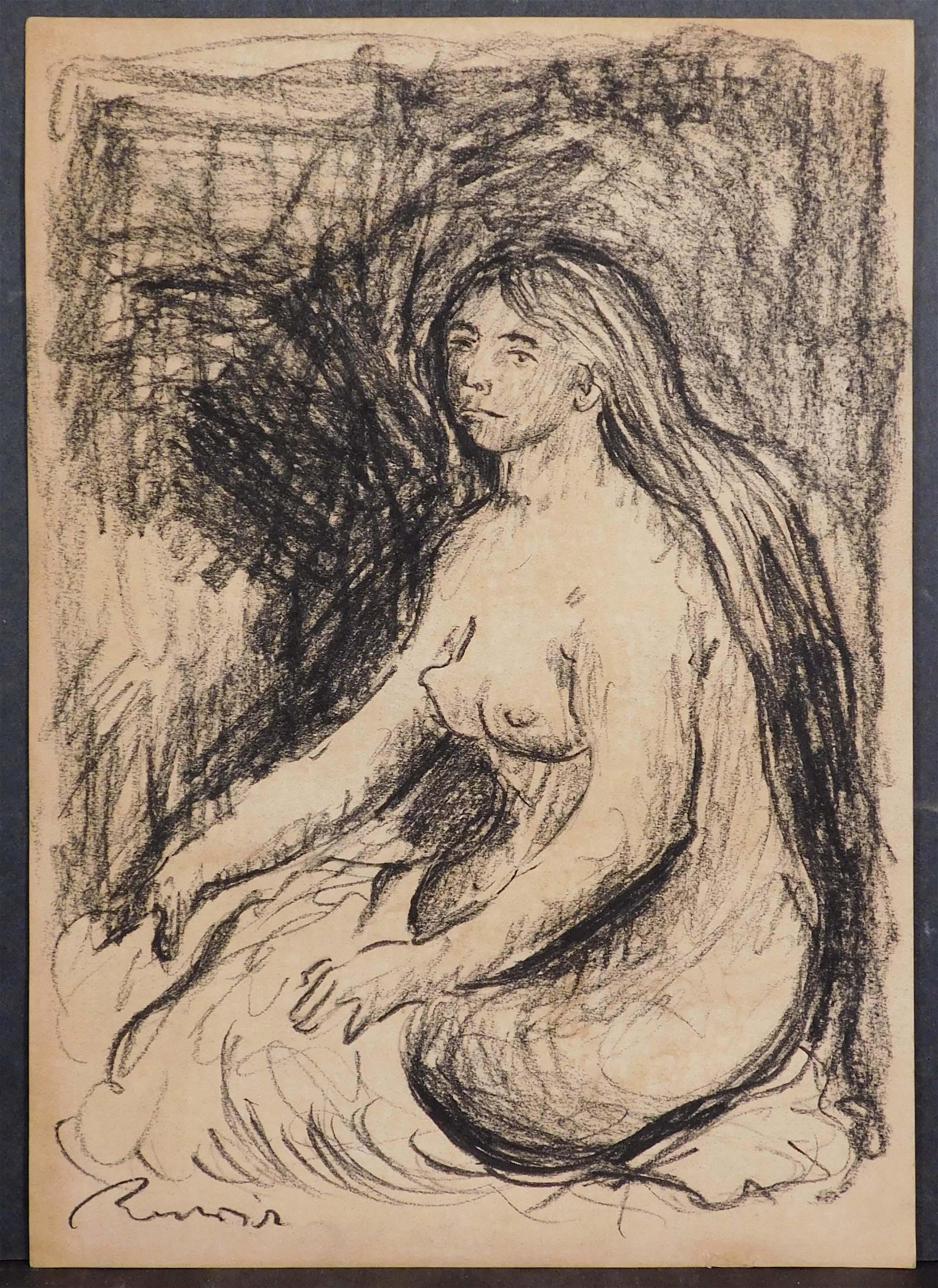 Pierre-Auguste Renoir (French, 1841-1919) Manner of: