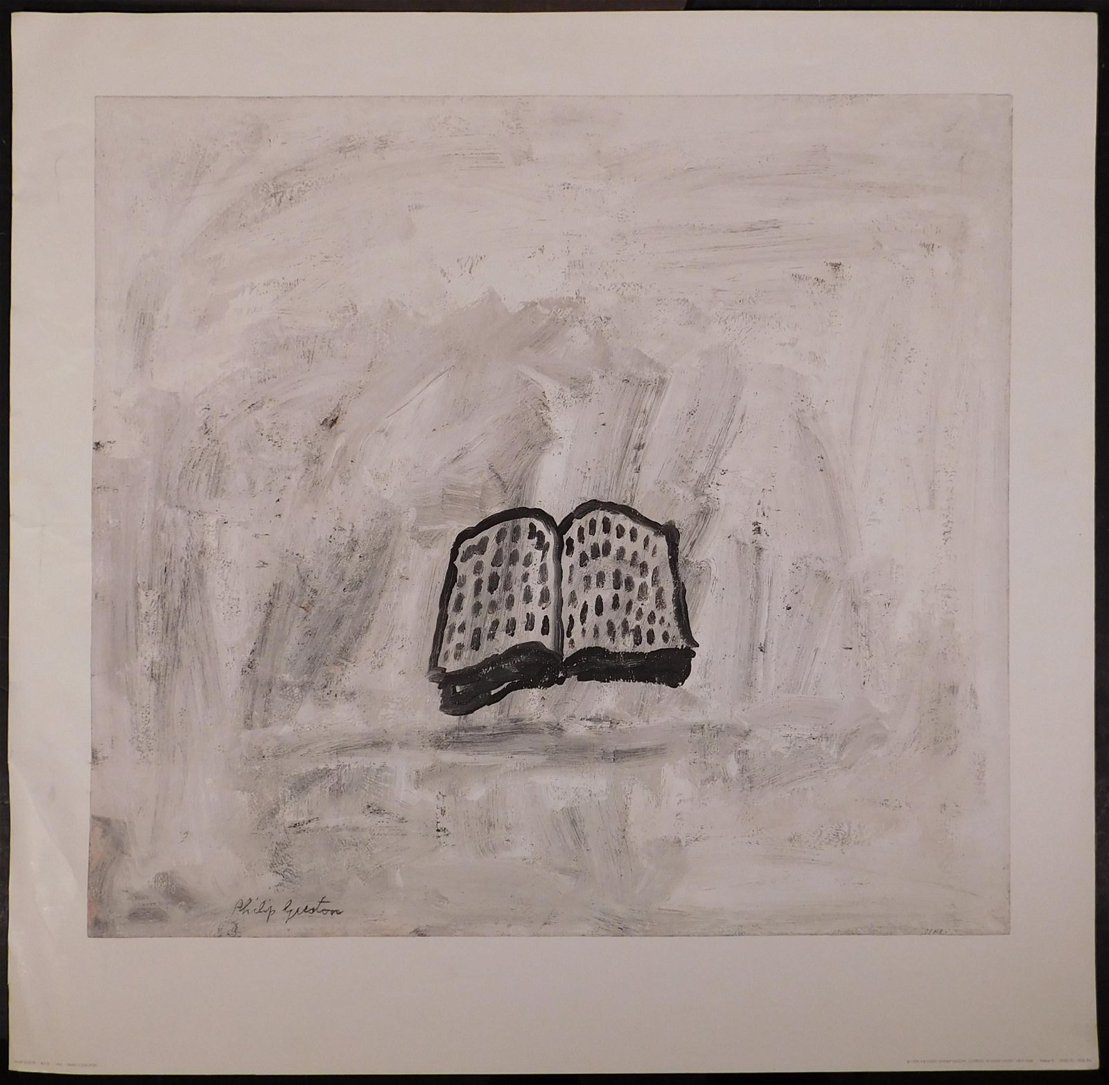 Philip Guston: Art Print Poster. Book, 1968