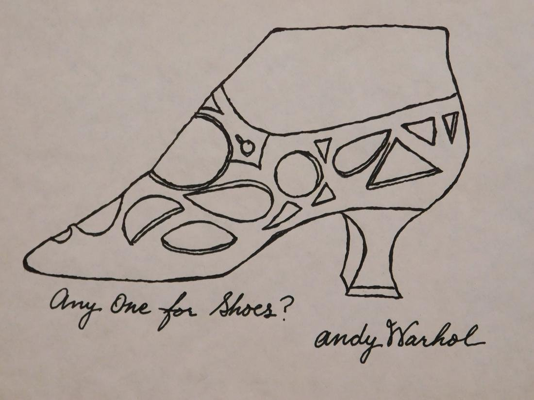 Andy Warhol Attr. Any One for Shoes?