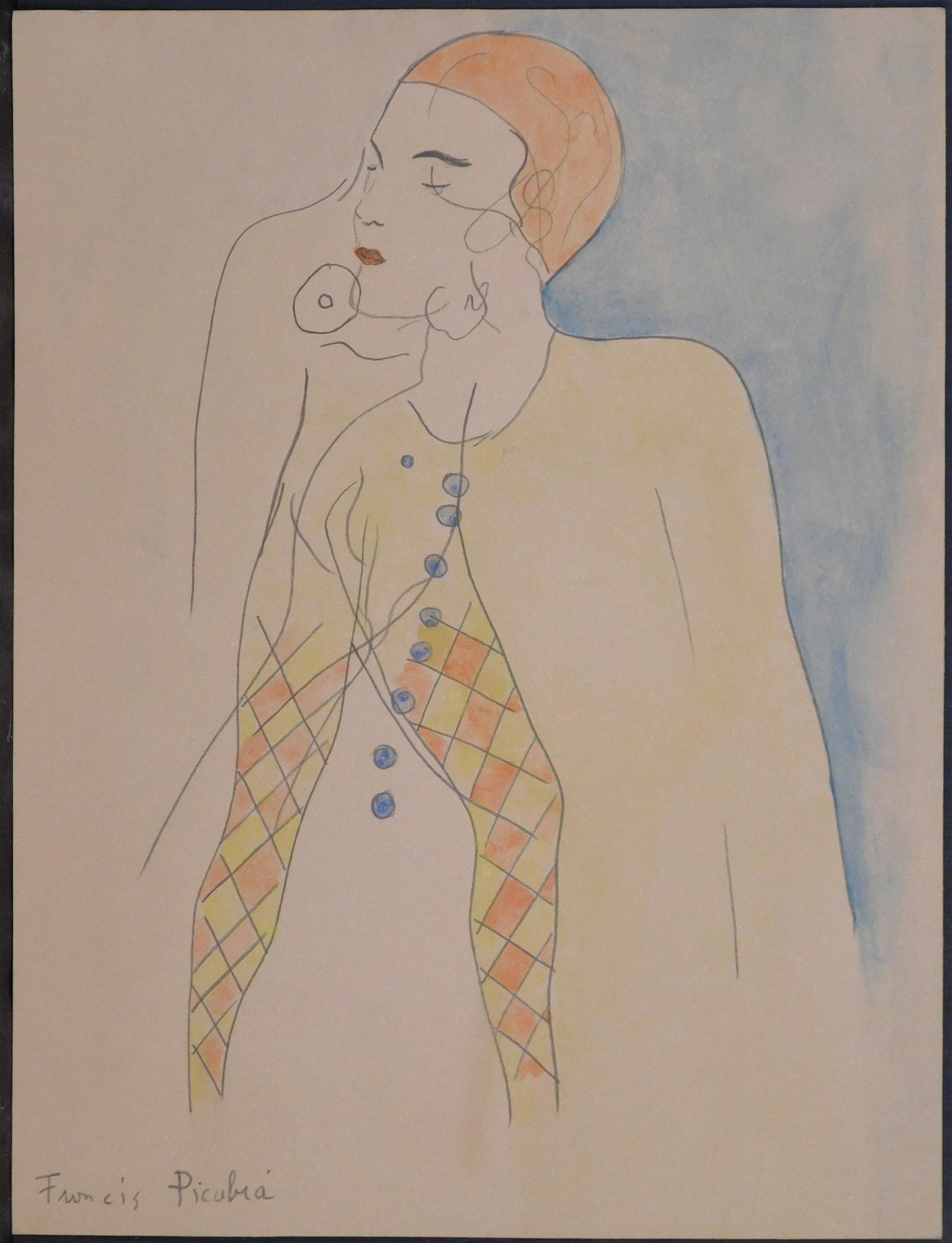 Francis Picabia, Attr/ Manner of:   Circus Performer