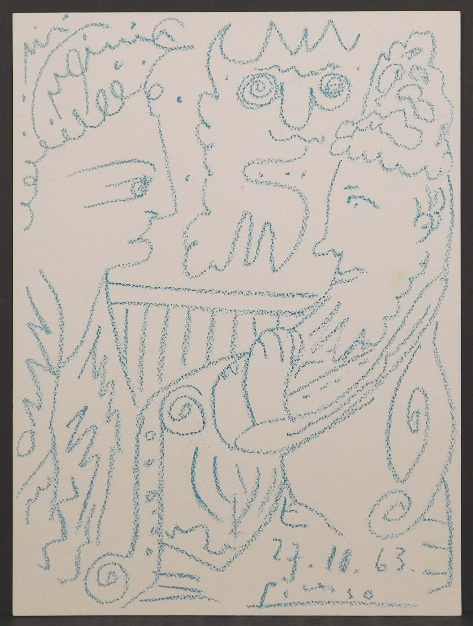 Pablo Picasso, Attributed/ Manner of: Bacchus et Femme