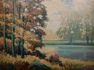 Louis Meynell Landscape Painting