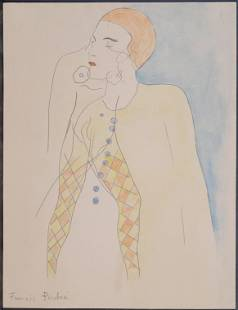 Francis Picabia Attr Manner of Circus Performer