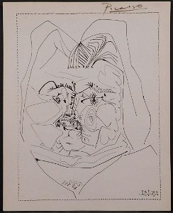 Picasso, After: Two Portraits