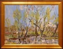 Dubina Nikolay Alekseevich: Abstract Landscape