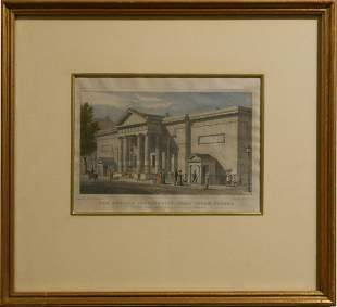 Pair of Historical Architectural Prints