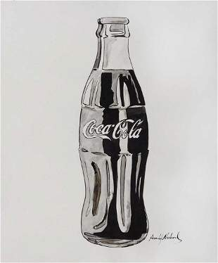 Andy Warhol, Attributed: Coca-Cola Bottle