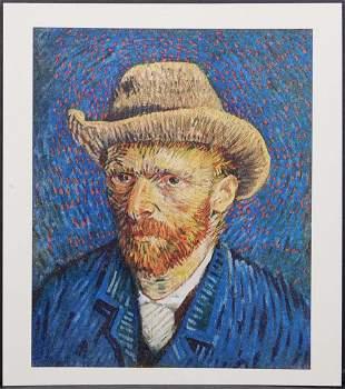 After Vincent van Gogh: Portrait de l'Artiste VIII