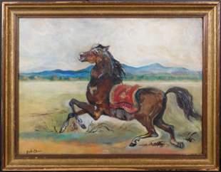Giorgio de Chirico, Manner of: Cavallo