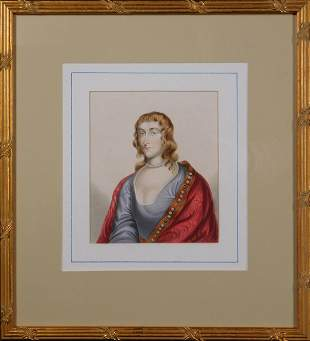 Scottish Lady of the Court Portrait: Woman with