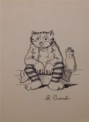 Robert Crumb (Attributed): Fritz The Cat