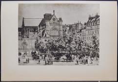 After Claude Monet: Saint-Germain L'Auxerrois