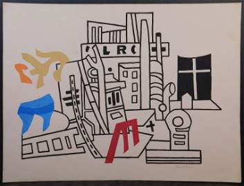 Stuart Davis, Manner of: New York Waterfront