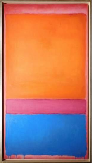 Mark Rothko Attr/ Manner of: Color Field