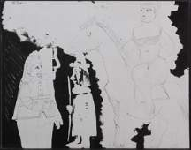 Pablo Picasso After: Soldiers and Woman on Horseback