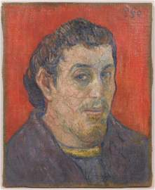 Paul Gauguin, Manner of: Self Portrait