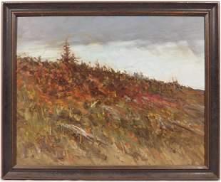 Impressionist New England Landscape