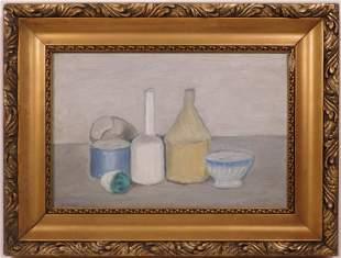 Giorgio Morandi, Manner of: Still Life