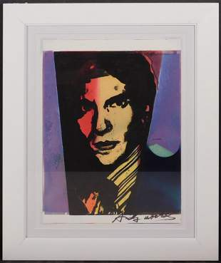 Andy Warhol Attr. Portrait of Leo Castelli