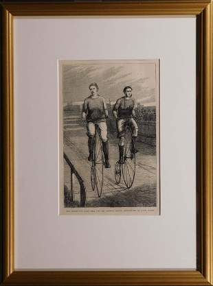 The Twenty-Five Miles Race for The Amateur Bicycle