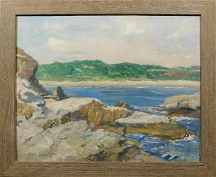 Edith Lampe: Impressionist Seascape