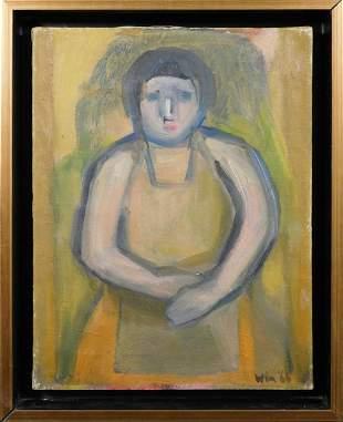 Win: Portrait of a Woman in an Apron