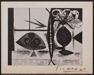Pablo Picasso (Spanish, 1881-1973) After: Still Life