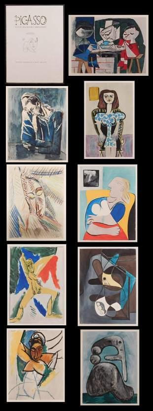 Pablo Picasso:  Venti Pochoirs Originali