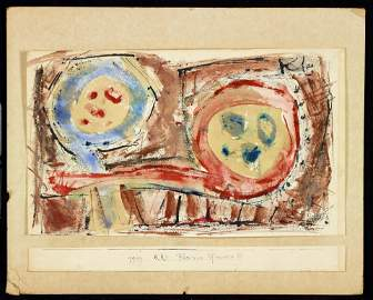 Paul Klee, Attributed: RR3 Blumen-Pfannen