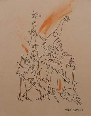 Yves Tanguy, Attributed/ Manner of: Surreal Figures