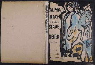 After Wassily Kandinsky: Cover of Der Blaue Reiter