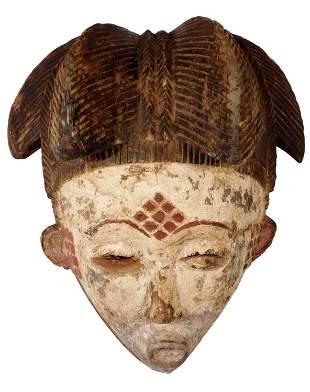 Okuyi Mask, Punu People, Gabon