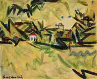 Frank Helmut Auerbach, Attr.: Untitled Landscape