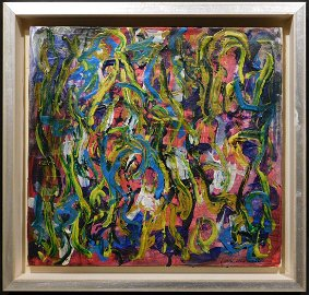 Joan Mitchell, Manner of: Abstract Composition