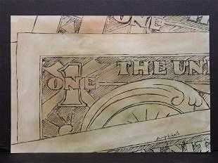 Andy Warhol Attr. : Dollar Bills