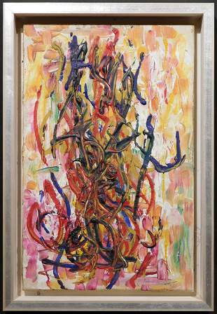 Joan Mitchell Attributed: Abstract Composition