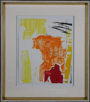 Franz Kline, Attributed: Abstract Composition