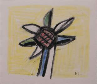 Fernand Leger, Attributed/ Manner of: Fleur