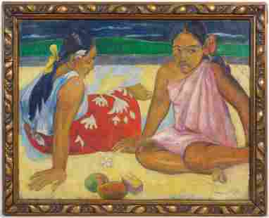 Paul Gauguin, Manner of: Tahitiennes