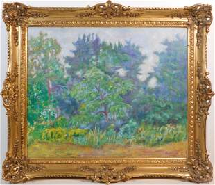 Pierre Bonnard, Manner of/ Attributed: Le Jardin de