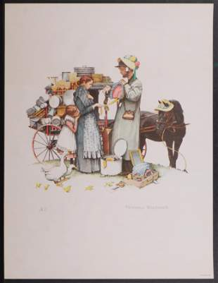 Norman Rockwell: The Country Pedlar