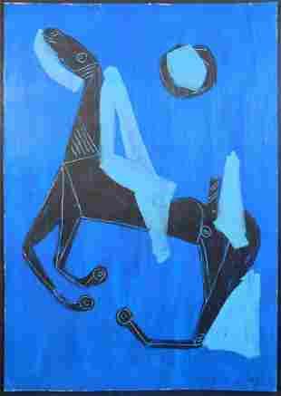 Marino Marini, Attributed: Cavallo