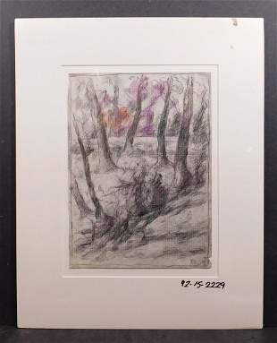 Richard H. Bassett: Edge of the Milton Wood